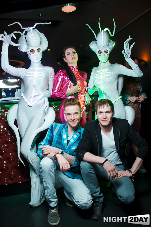 Певица Атмосфера - Ольга Бутусова: Выступление в Face Club