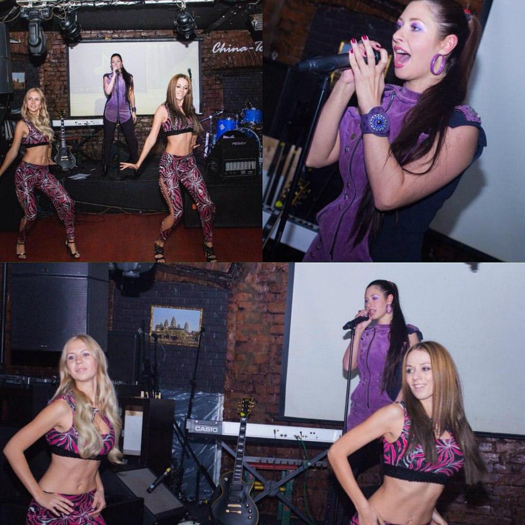 Певица Атмосфера - Ольга Бутусова: выступление в China Town Cafe