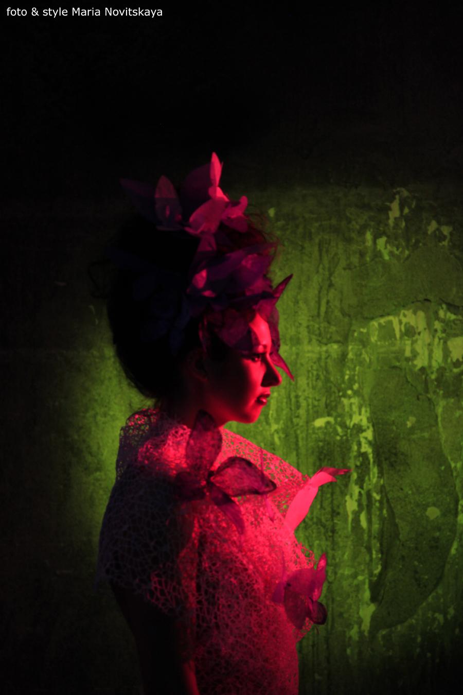 Певица Атмосфера - Ольга Бутусова: Съёмки видеоклипа
